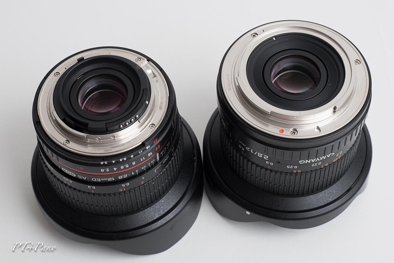 Samyang f2,8/12mm Fullframe | PT4Pano