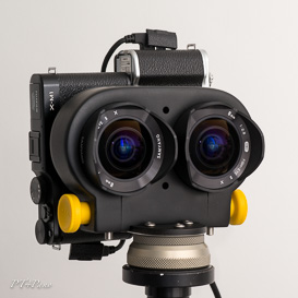 BINOKEL - TwinSet hier mit 65mm-Basis