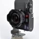 äußerst kompaktes Setup mit Rotator - auch für die Leica M mit Voigtlaender Objektiv