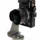 MiniRotor unter dem KISS Nodalpunktadapter mit spiegelloser Systemkamera